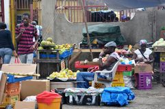 GENTE DE JAMAICA Foto de archivo libre de regalías