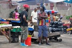 GENTE DE JAMAICA Foto de archivo