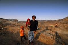 Gente de Jharia Imagen de archivo libre de regalías