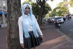 Gente de la ciudad de Ho Chi MInh Foto de archivo libre de regalías