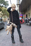 Gente de la ciudad de Ho Chi MInh Fotografía de archivo