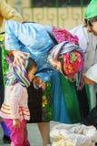 Gente de la minoría étnica Foto de archivo libre de regalías