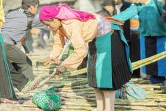 Gente de la minoría étnica Imagenes de archivo