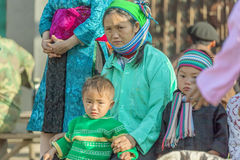 Gente de la minoría étnica Fotografía de archivo