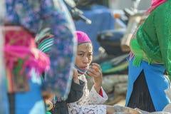 Gente de la minoría étnica Imagen de archivo