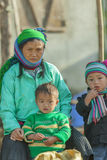 Gente de la minoría étnica Fotografía de archivo libre de regalías