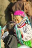 Gente de la minoría étnica de la madre y del hijo Fotos de archivo
