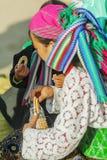 Gente de la minoría étnica de la madre y del hijo Imágenes de archivo libres de regalías