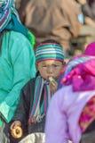 Gente de la minoría étnica del hijo Imágenes de archivo libres de regalías