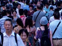 Gente de la muchedumbre, timelapse 4k almacen de video