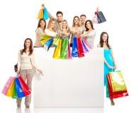 Gente de las compras imagen de archivo libre de regalías