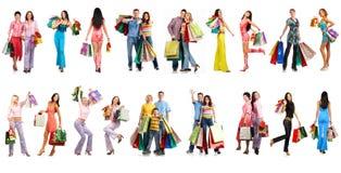 Gente de las compras Fotos de archivo