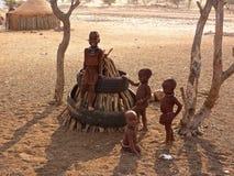 Gente de Namibia Imagen de archivo libre de regalías