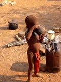 Gente de Namibia Imagenes de archivo