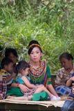Gente de Tana Toraja, Sulawesi, Indonesia Fotos de archivo