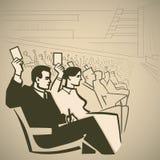 Gente de votación libre illustration