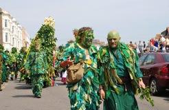 Gente del árbol, Jack In The Green Foto de archivo libre de regalías
