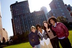 Gente del apartamento Imagenes de archivo