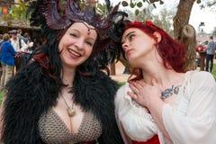 Gente del festival del renacimiento de Arizona Foto de archivo