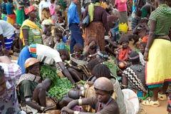 Mercado africano Imagen de archivo libre de regalías