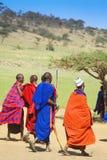 Gente del Masai imágenes de archivo libres de regalías