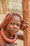 Gente del mundo - muchacha de Himba Fotos de archivo libres de regalías