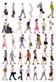Gente del verano del vector imagenes de archivo