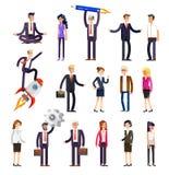 Gente detallada de los caracteres del vector, negocio libre illustration