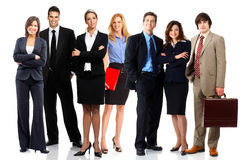 Gente di affari Immagini Stock Libere da Diritti