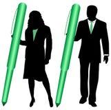 Gente di affari illustrazione di stock