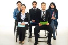 Gente di affari al seminario Fotografie Stock