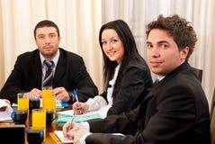 Gente di affari alla riunione Fotografia Stock Libera da Diritti