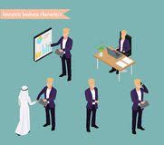 Gente di affari araba di riunione Fotografia Stock Libera da Diritti