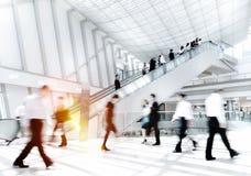 Gente di affari in Asia Hong Kong Commuter Concept Immagini Stock Libere da Diritti