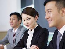 Gente di affari asiatica Fotografia Stock Libera da Diritti