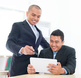 Gente di affari asiatica sudorientale Immagine Stock