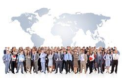 Gente di affari attraente Fotografie Stock Libere da Diritti