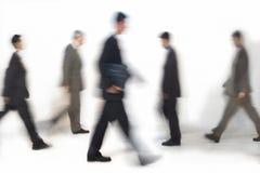 Gente di affari camminare immagini stock libere da diritti