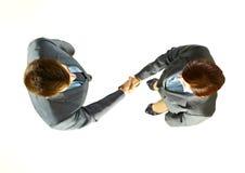 Gente di affari che agita le mani Fotografia Stock Libera da Diritti