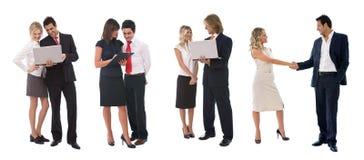 Gente di affari che lavora in gruppo Fotografia Stock Libera da Diritti