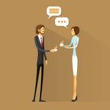 Gente di affari del caffè della bevanda, conversazione di chiacchierata sopra illustrazione vettoriale