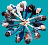 Gente di affari del collega Team Concept di cooperazione Fotografie Stock