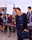 Gente di affari del gruppo in ufficio Immagini Stock Libere da Diritti