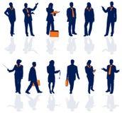 Gente di affari del particolare 1 Immagine Stock