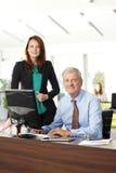 Gente di affari del ritratto Fotografie Stock