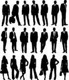 Gente di affari dell'accumulazione Immagini Stock