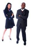 Gente di affari dell'afroamericano Immagine Stock Libera da Diritti