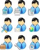 Gente di affari dell'icona illustrazione vettoriale