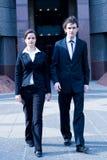 Gente di affari della camminata Fotografia Stock Libera da Diritti