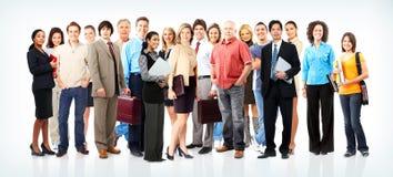 Gente di affari della squadra Fotografie Stock